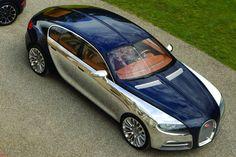 Ist das der Bugatti auf Panamera Basis?