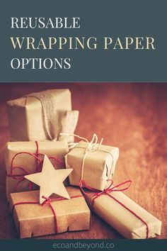 Reusable wrapping paper is a trendy yet traditional zero waste way to wrap gifts. Be inspired by our eco friendly gift wrap ideas! Christmas Gift Bags, Christmas Wrapping, Christmas Diy, Seed Paper, Gift Wrapping, Wrapping Ideas, Wraps, Zero Waste, Reuse