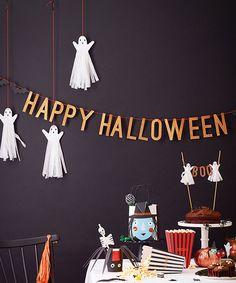 Glitzy Halloween Garland