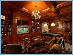 luxurIOUS  man caves | Dads deserve to relax on Father's Day and these top man caves are ...