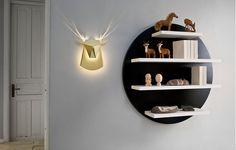 deer head lamp
