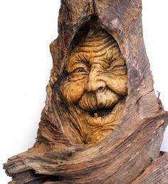 Crone by psychosculptor.deviantart.com on @deviantART
