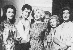 "Marilyn on the set of ""El Angel Exterminador"""