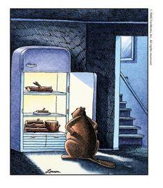 Far Side Cartoons, Far Side Comics, Funny Cartoons, Gary Larson Cartoons, The Far Side, Twisted Humor, Nurse Humor, Comic Strips, Illustrators