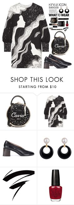 """""""OOTD by Sasoza"""" by sasooza ❤ liked on Polyvore featuring Kate Spade, Chloé and Acne Studios"""