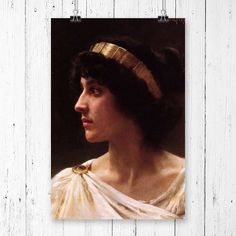 Bouguereau Le Repos Rest Wood Framed Canvas Print Repro 8x10