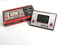 Nintendo Game & Watch Ball (Original AC-01) MIJ 1980 (Box is damaged) Free Ship! #Nintendo