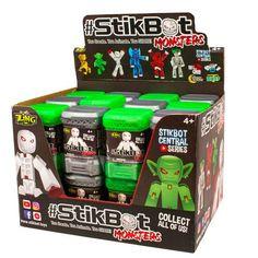 Stikbot Action Pack Hair/_Brunette