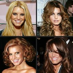 jessica simpson hair colors