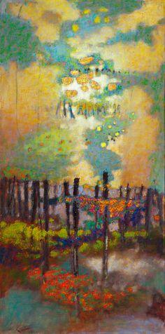 "Rick Stevens, artist ""Life Manifests"""