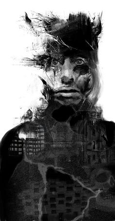 Art, just art Collage Portrait, Digital Portrait, Portraits, Modern Art Movements, Fantastic Art, Awesome, Cool Artwork, Pop Art, Contemporary Art