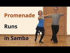 Samba from Whisk to Promenade To Counter Promenade Runs / Latin Dance - YouTube