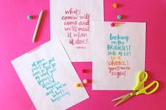 Love these new printables from Amy Tan!