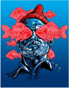 Awesome Art We've Found Around The Net: The Departed, Gravity, The Life Aquatic, Transformers - Movie News | JoBlo.com