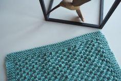 Yndlingsklud - Gratis opskrift på strikket karklud - Ecoknitting Crochet For Beginners, Knitting Stitches, Merino Wool Blanket, Crochet Projects, Knit Crochet, Daisy, Tote Bag, Rugs, Accessories
