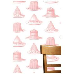 jelly & cake pink wallpaper | Thornback and Peel Ltd