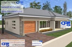 RDM5 House Plan No W2177 Two Bedroom House Design, 2 Bedroom House Plans, Family House Plans, New House Plans, Bungalow Floor Plans, House Floor Plans, Building Costs, House Plans With Photos, Fancy Houses