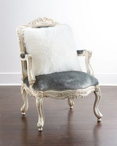 Lucy Accent Chair by Massoud at Neiman Marcus.