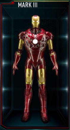 Iron Man - Mark 3 Suit