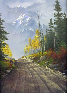 My Dream Place by Joseph Yarnell Acrylic ~ 24 x 36