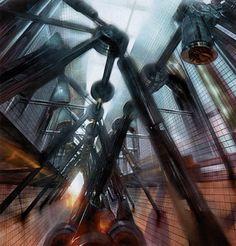 Half-Life 2 - Viktor Antonov Concept Art