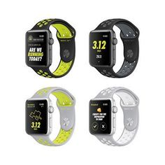 Today, Apple® and Nike introduced Apple Watch® Nike+, the latest result of a long-standing partnership. Apple Watch Nike+ is the ultimate tool for anyone who runs, pairing exclusive Nike Sport Band… Nike Watch, Apple Watch Nike, Apple Watch Iphone, New Apple Watch, Apple Watch Series 2, Watch 2, Smartwatch, Nike Free Shoes, Nike Shoes