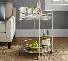 For our Dining Room... Tristan Bar Cart | Pottery Barn