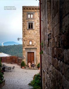 Civita di Bagnoregio, hilltop town in Italy