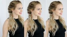 Easy Twisted Pigtails Hair Style Inspired by Margot Robbie - YouTube