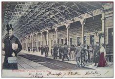 BUCURESTI - Gara de Nord - 1906 Old Pictures, Old Photos, Little Paris, Bucharest Romania, Photo Archive, Time Travel, Old Town, Abandoned, Louvre