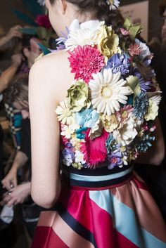 Viktor & Rolf at Couture Spring 2018 - Backstage Runway Photos
