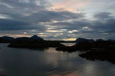 Mortsund, Lofoten islands, Norway