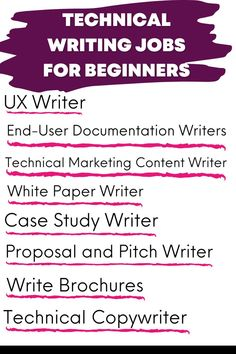 Technical writing career to gain technical writing jobs so you can work from home. Online Writing Jobs, Freelance Writing Jobs, Easy Online Jobs, Paper Writer, Technical Writer, Business Motivational Quotes, Creative Jobs, Writers Write, Business Inspiration