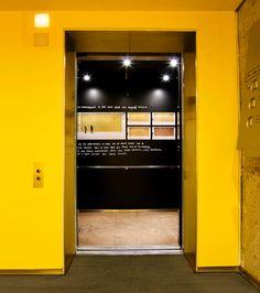 Great Elevator door on http://www.drlima.net