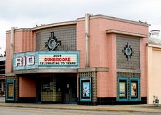 Rio Theater, Overland Park, Kansas. Art Deco.