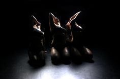 "Around Centre Group 'Mourners' performance // Grupa Wokół Centrum ""Płaczki""   Krakow Choreographic Centre / Krakowskie Centrum Choreograficzne"