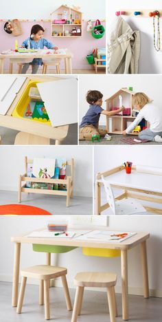 The all new IKEA Flisat Collction for kids! It's designed to grow with them…