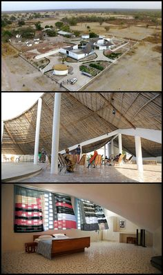 Artist Residency and Cultural Center, Sinthian, Senegal, Toshiko Mori Architects School Architecture, Architecture Models, Ryue Nishizawa, Casamance, Renzo Piano, Norman Foster, Frank Gehry, Cultural Center, Zaha Hadid