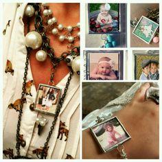 Customized family pendants  .wear as necklace or bracelet.  30 to 34 dollars.  Visit  plunderdesign.com/joleenbrooks  or joleen.brooks@gmail.com