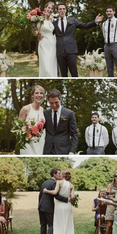 """The perfect """"just married"""" photos"""