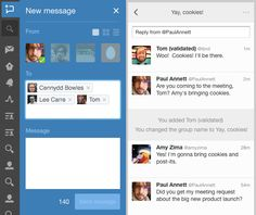 Now on TweetDeck: group Direct Messages   Twitter Blogs