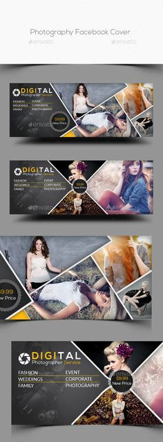 Photography Facebook Cover Template #design Download: http://graphicriver.net/item/photography-facebook-cover/12603644?ref=ksioks