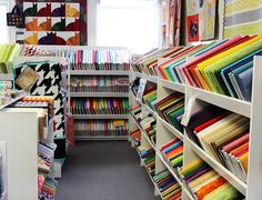 For 16 years, Fabric Shack has served the quilting community as one of the best and largest shops in the tri-state area. Keeping up with the latest trends, Fabric Shack offers the finest materials at excellent values.
