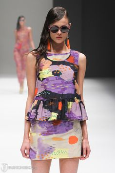 Gorman S/S '13. Ahhh, that dress.  A great example of fauvist palette in fashion.
