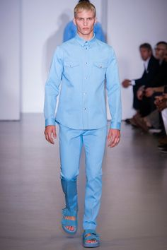 Calvin Klein Collection Spring 2014 Menswear Collection Slideshow on Style.com
