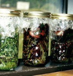 herbal vinegar #SundaySupper