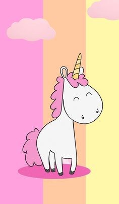 Unicornios Wallpaper, Cute Wallpaper Backgrounds, Wallpaper Iphone Cute, Disney Wallpaper, Unicorn Images, Unicorn Art, Unicorn Painting, Unicorn Wallpaper Cute, Unicorn Backgrounds