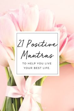 How we speak to ourselves matters. I believe our thoughts affect our energy, and our energy affects our experiences in life.  One of the best ways to start to reprogram your thinking is to rely on positive affirmations or mantras. Choose a few of these mantras, keep them close, and repeat them often. Slowly …