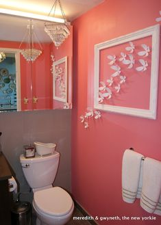 Little Girl Bathroom Decor. 20 Little Girl Bathroom Decor. 10 Little Girls Bathroom Design Ideas Coral Bathroom Decor, Bathroom Colors, Bathroom Ideas, Pink Bathrooms, Bathroom Accessories, Bathroom Art, Bathroom Inspiration, Peach Bathroom, Design Bathroom