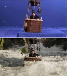 We heard James franco was afraid of water, this explains a lot